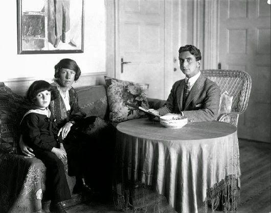 Sigrid Hjertén, Isaac Grünewald o Iván