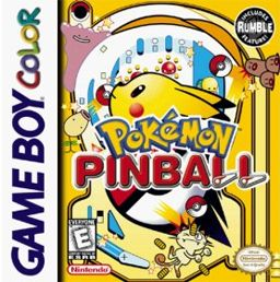 Pokemon Pinball on Game Boy Color :)