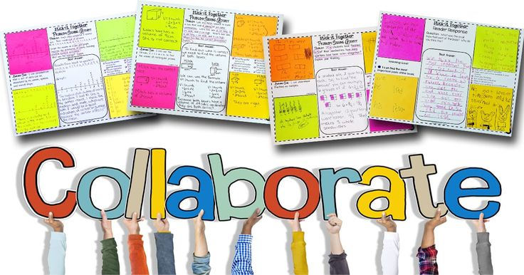 Collaborative Classroom Projects ~ Collaborative problem solving in math common goal and