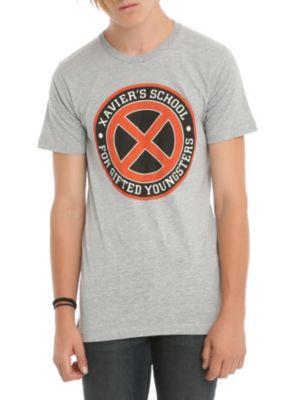 Marvel X-Men Xavier's School Crest T-Shirt