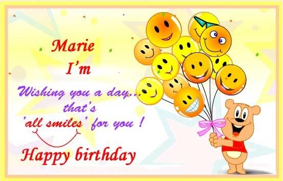 happy birthday marie tomorrow for family pinterest