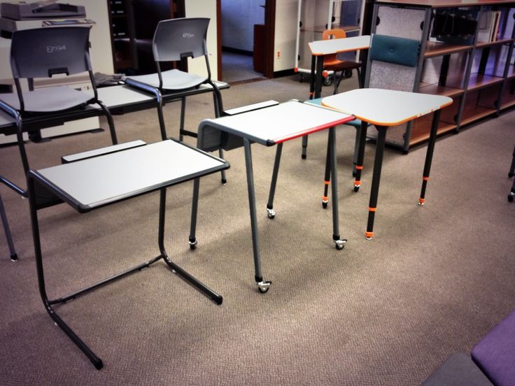 Lovely 3 Versions Of Paragon Furniture A Classroom Student Desks Cantilevered,  Adjustable And 4 Post