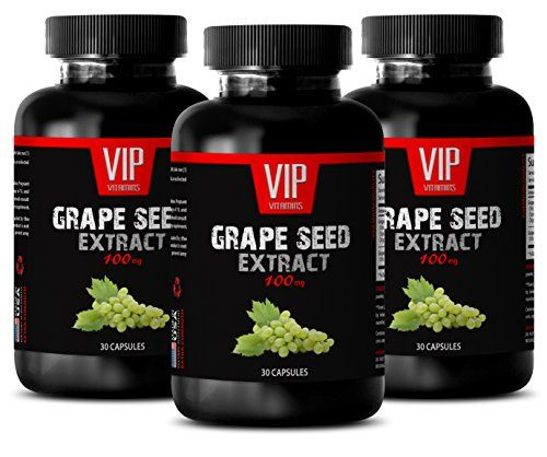 #vision #Grapeseed #Extract Capsules - GRAPE SEED EXTRACT 100 - Anti-Inflammatory Diet 3 Bottles 90 Capsules Grape seed History Grapes (Vitis vinifera) have been ...
