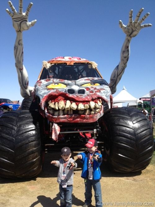 Monster Jam Zombie Truck | Monster Jam World Finals Las Vegas