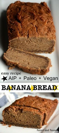 This vegan autoimmune paleo approved banana bread passed the test!! The test being, my husband loved it, I LOVE it, and it toasted up beautifully (in the toaster oven) so I could butter the heck out of it with non-aip goat milk butter. But even if you don't slather this bread in butta, I think...