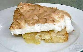 Torta de Maçã | Tortas e bolos > Receitas de Torta de Maçã | Mais Você - Receitas Gshow
