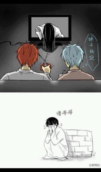 BAHAHA Ohh god so funny :'D Tetsuya Kuroko and Seijuro Akashi