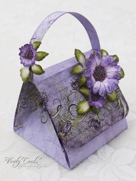 Exploding Handbag ! by Veritycards - Cards and Paper Crafts at Splitcoaststampers