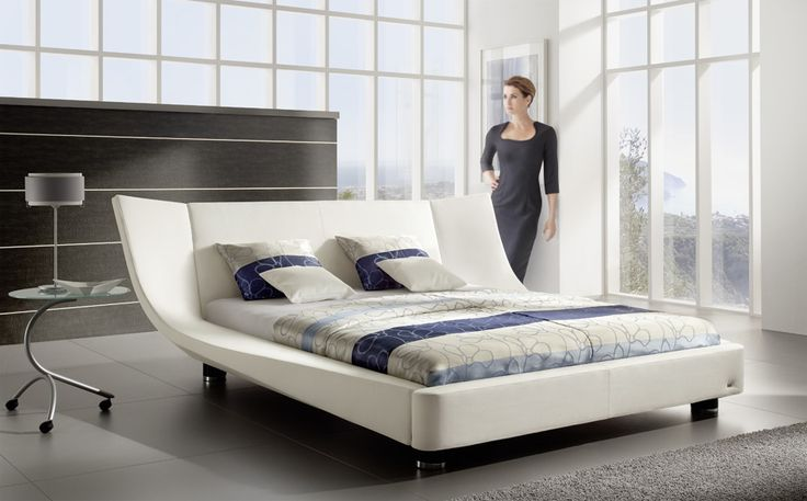 RUF COCOON   Ruf-Betten . Love this bed in the heather gray color .
