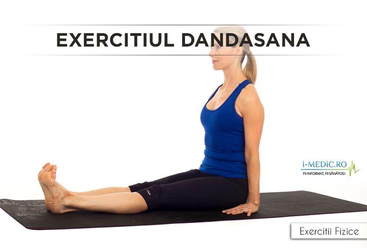 Avantajele Posturii Dandasana - Fortifiaza spatele si picioarele. - Creste gradul de flexibilitate al tendoanelor. - Imbunatateste pozitia corpului in timpul zilei. Acest lucru este cu precadere benefic persoanelor care petrec in mod normal perioade indelungate de timp pe scaun. - Amelioreaza afectiunile gastrice si reduce gradul de balonare. - Amelioreaza afectiunile renale. http://www.i-medic.ro/exercitii/yoga/exercitiul-dandasana