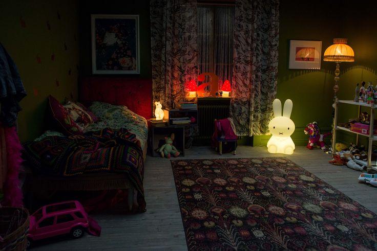 vintage children's bedroom