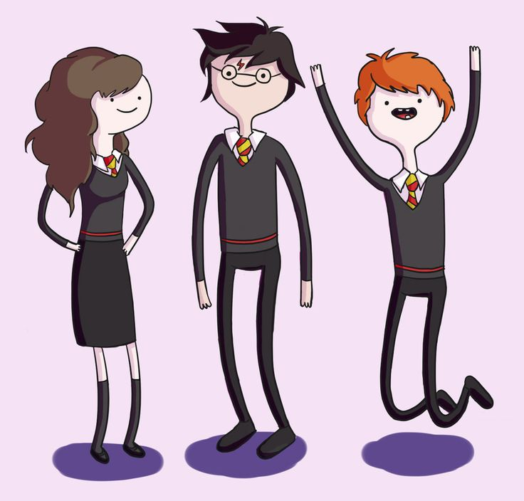 Adventure time art style harry potter adventure time style by ravenclawinatardis on deviantart
