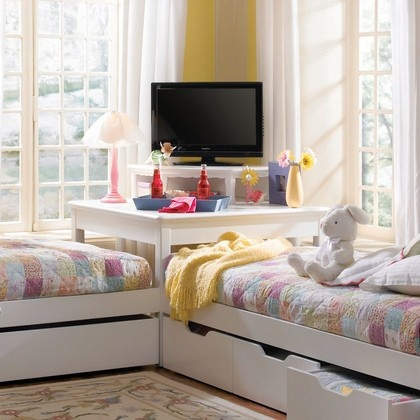 l shaped l shaped beds pinterest in the corner 17286 | 07369a59e0aad3c494581dd96000bb67