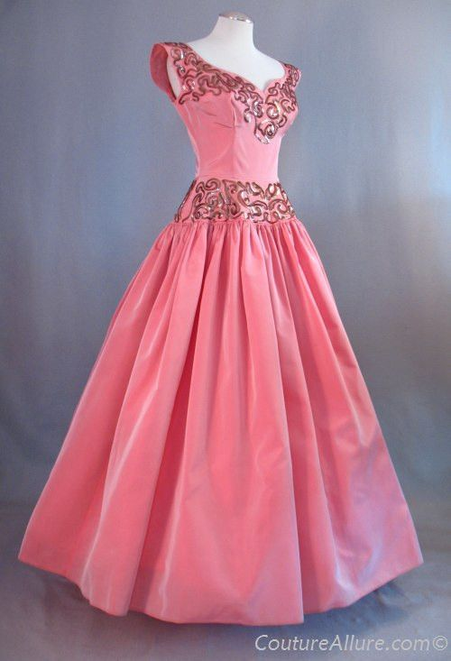 ~1950s Emma Domb Evening Gown~