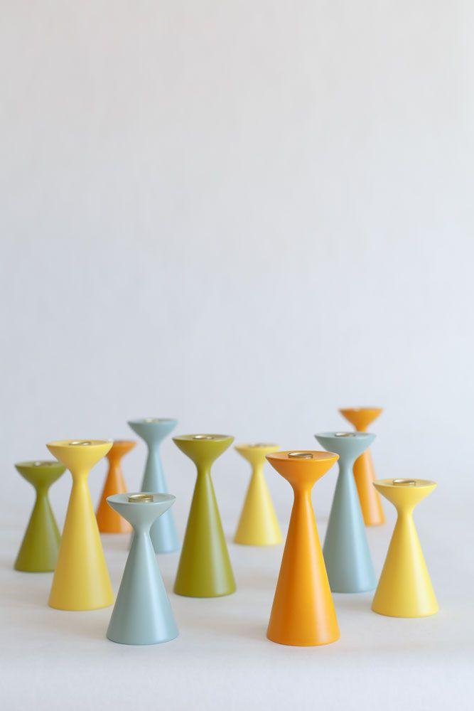 Original Inga™ Wooden Candlesticks from freemover.se Design: Maria Lovisa Dahlberg