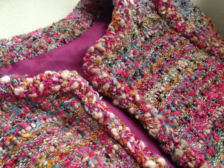 Remate de chaqueta hecho a mano. Paso a paso en: http://a-louise.com/?p=2911