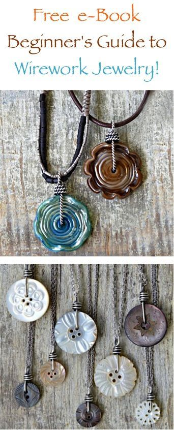 FREE eBook: Beginner's Guide to Wirework Jewelry!