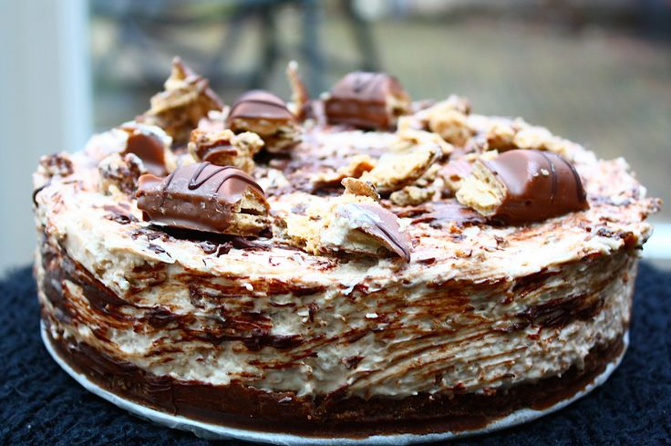 Kinder Bueno Cheesecake uit het Guilty Pleasures Kookboek - Francesca Kookt