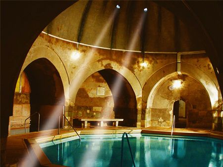 Not the one in Budapest necessarily, VA will suffice.  - Kirali Baths Spa and Bath House in Budapest, Hungary.