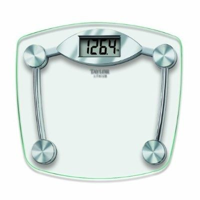 Taylor Glass and Chrome Digital Scale - For Sale Check more at http://shipperscentral.com/wp/product/taylor-glass-and-chrome-digital-scale-for-sale/