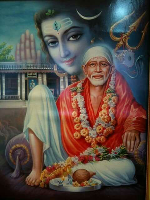 Sai baba and Lord Shiva | Other Indian gods | Pinterest ...