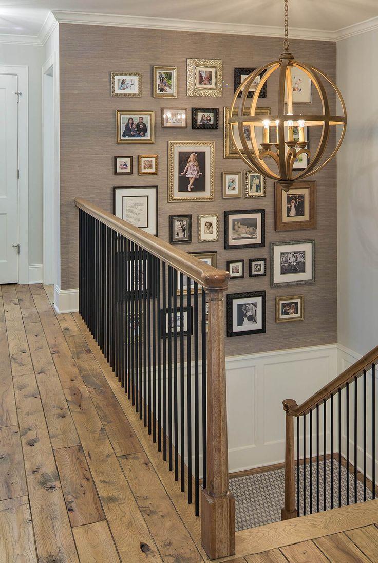 28 Stilvolles Treppenhaus Dekorationsideen für die Anzeige von Pflanzen bis zu Bildern