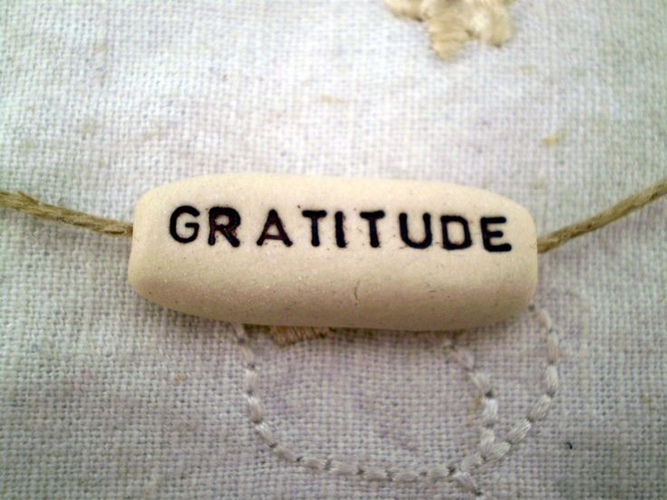 Gratitude, Inspirational Word Bead, Bracelet Charm ...