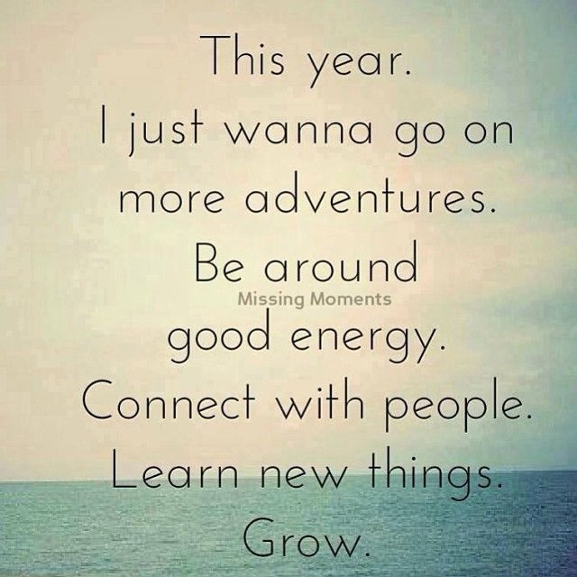 Inspiration for a New Year's Resolution! I am so fortunate to be around a group of wonderful successful people that help me reach higher.
