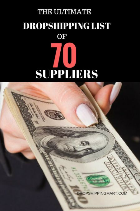 The Ultimate Dropshipper List of 70 Suppliers by Niche