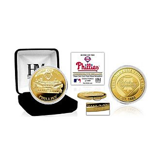 "MLB® Philadelphia Phillies ""Stadium"" Gold Mint Coin"