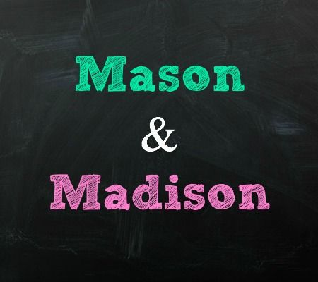 Mason and Madison Twin Baby Names | Disney Baby