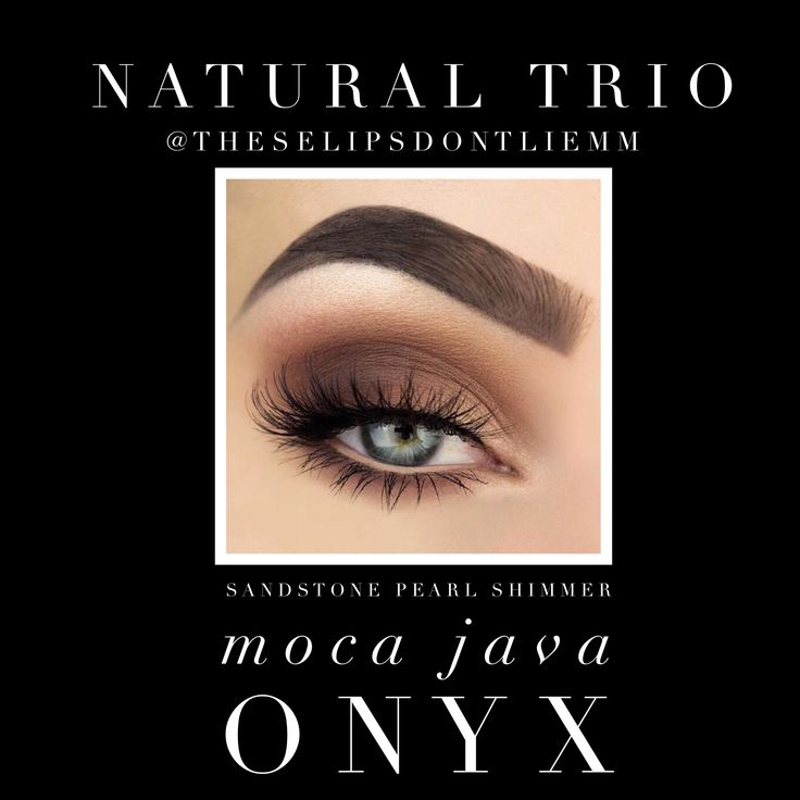 Get a natural smokey eye with ShadowSense by SeneGence! Candlelight, Moca Java and Onyx cream to powder formula. Waterproof and smudgeproof!