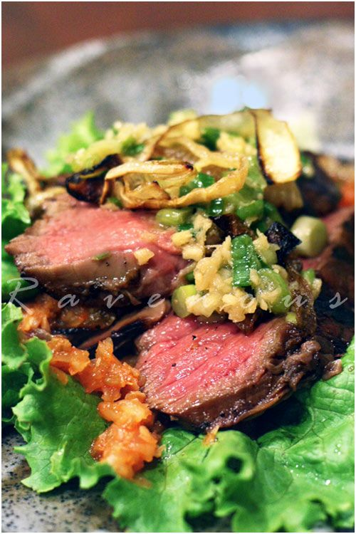 Momofuku's Steak Ssam - I made this for dinner once. It was AMAZING ...