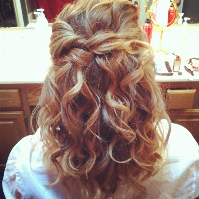 Awe Inspiring Cute Curly Hairstyles Prom Hair And Curly Hairstyles On Pinterest Short Hairstyles For Black Women Fulllsitofus