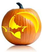 The Batman stencil is not too hard, but looks amazing. Try your hand at some of the easy or the very difficult. Happy Halloween.