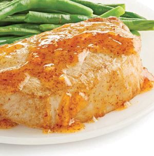 Orange-Dijon Pork Chops are dead simple and super impressive. The sauce practically makes itself! Fabulous with steamed green beans and warm rolls.