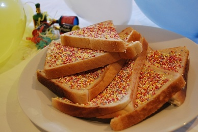 Fairy Bread - great memories of childhood parties...