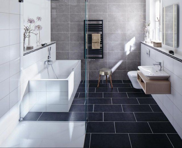 17 best ideas about salle de bain contemporaine on for Salle de bain contemporaine