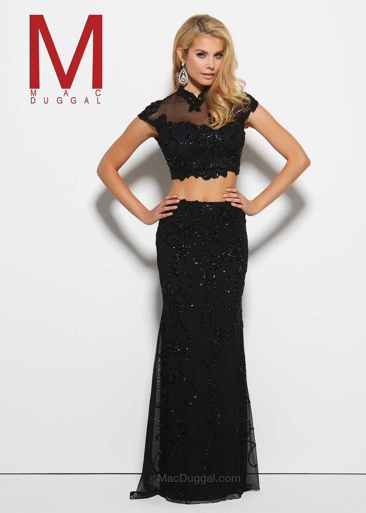 2 Piece Prom Dress Mac Duggal – fashion dresses 1bc434c83