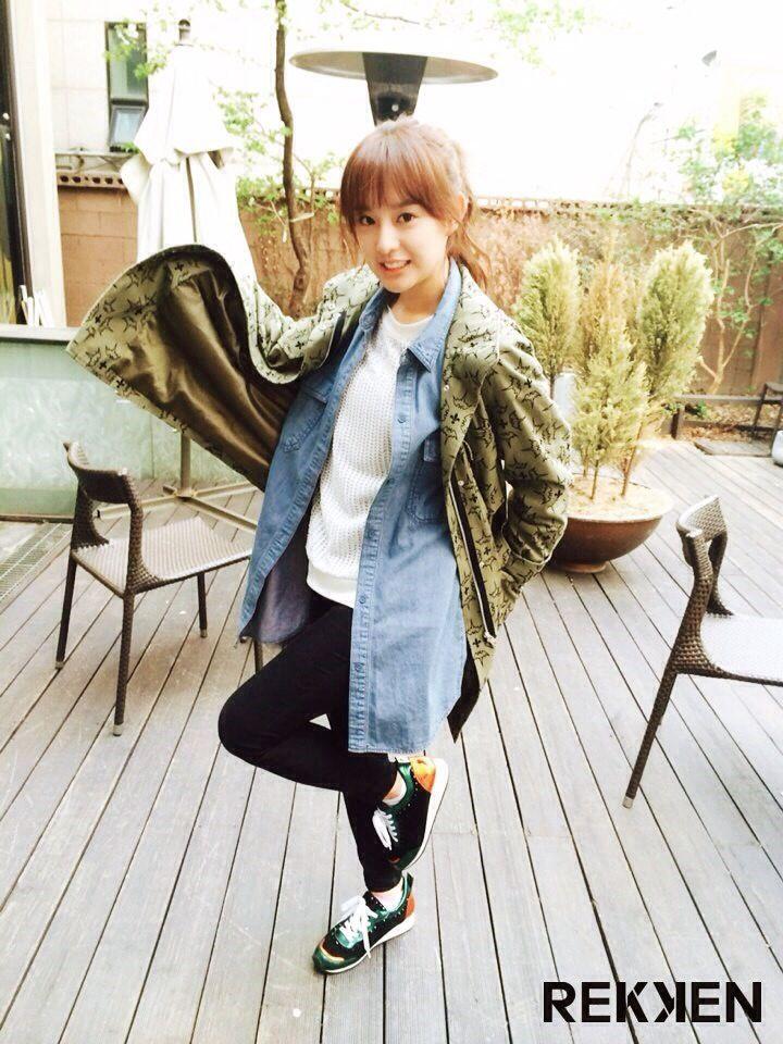 김지원 / Kim Ji Won in Gap dong , this photo for rekken shoes