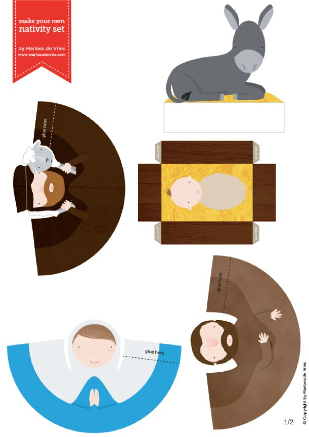 Blog_Paper_Toy_papertoys_Nativity_Set_Marloes_de_Vries_template_preview