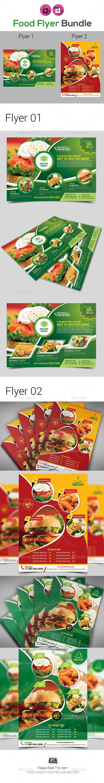 Food Flyer Bundle - Restaurant Flyers