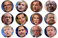 Who's Winning the Presidential Campaign? History suggests that each party's eventual nominee will emerge from 2015 in one of the top two or three positions, as measured by endorsements, fund-raising and polling.