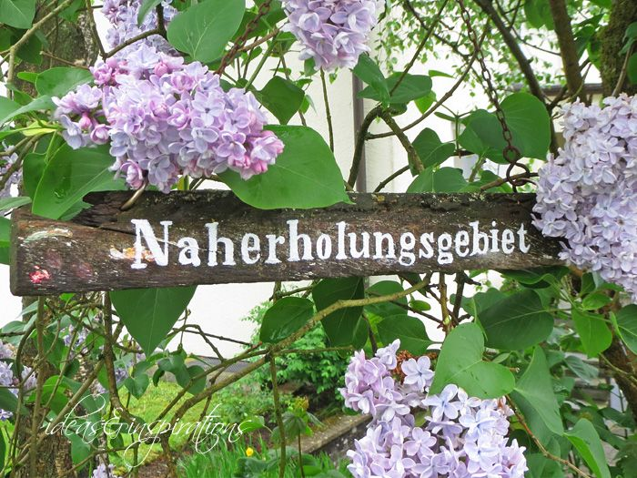 DIY Gartenschild * garden sign