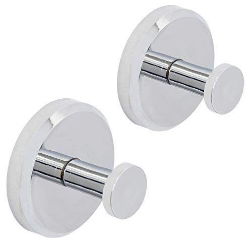 Modern Towel Holder Hanger Suction Cup Hooks For Bathroom Kitchen White