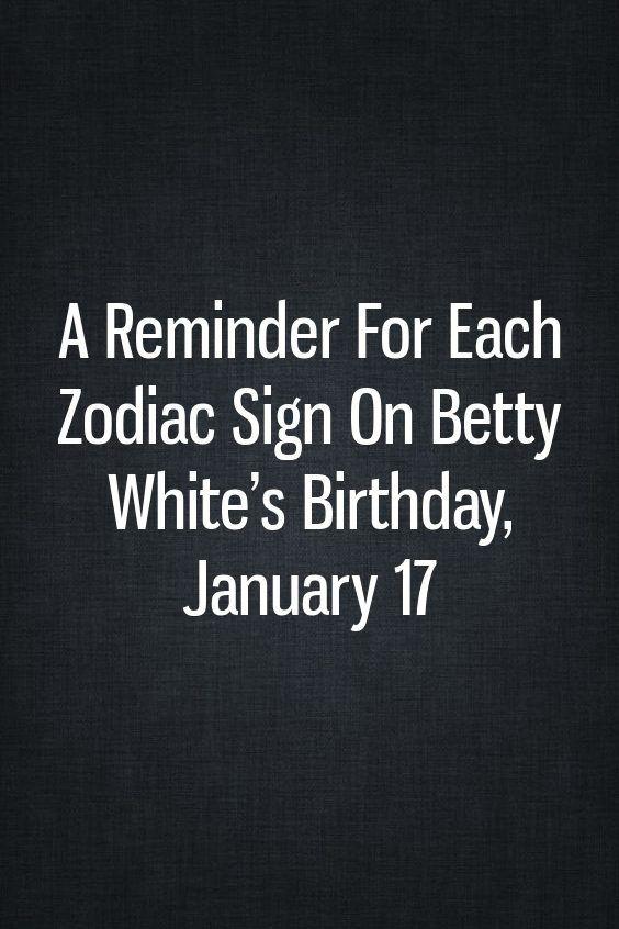 17 of january birthday astrology