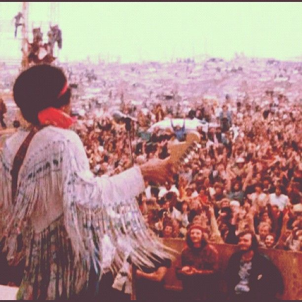 August 15, 1969 - Woodstock Music & Arts Fair. Three days of love, peace and understanding. Santana, Jimi Hendrix, Creedence Clearwater Revival, Janis Joplin, Ten Years After, Crosby, Stills & Nash, Creedence Clearwater Revival and Joe Cocker perform.