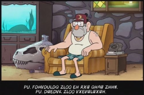 Secret Coded Messages in Credits - Decoding Gravity Falls