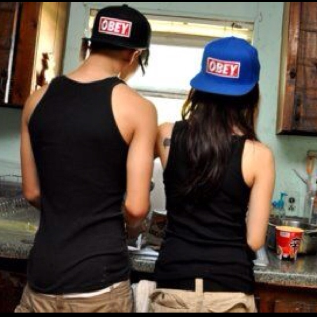 Boy and girl in a kitchen swag obey swagg it out - Photo couple swag ...
