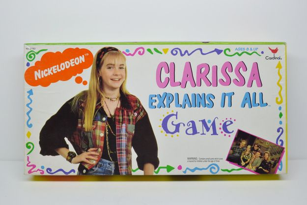 Clarissa Explains It All: Game | 12 Forgotten '90s Board Games For Girls